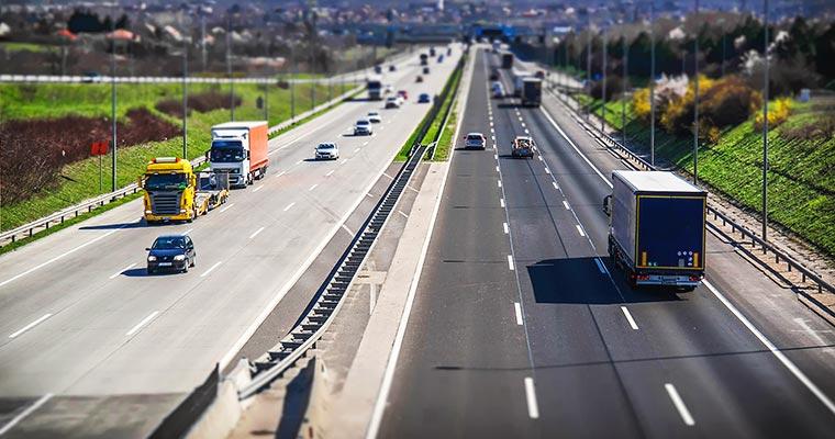 Korytarze logistyczne w Europie do 2030 roku.